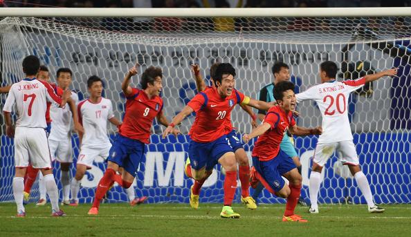 E-1 Championship: South Korea Vs North Korea -- The